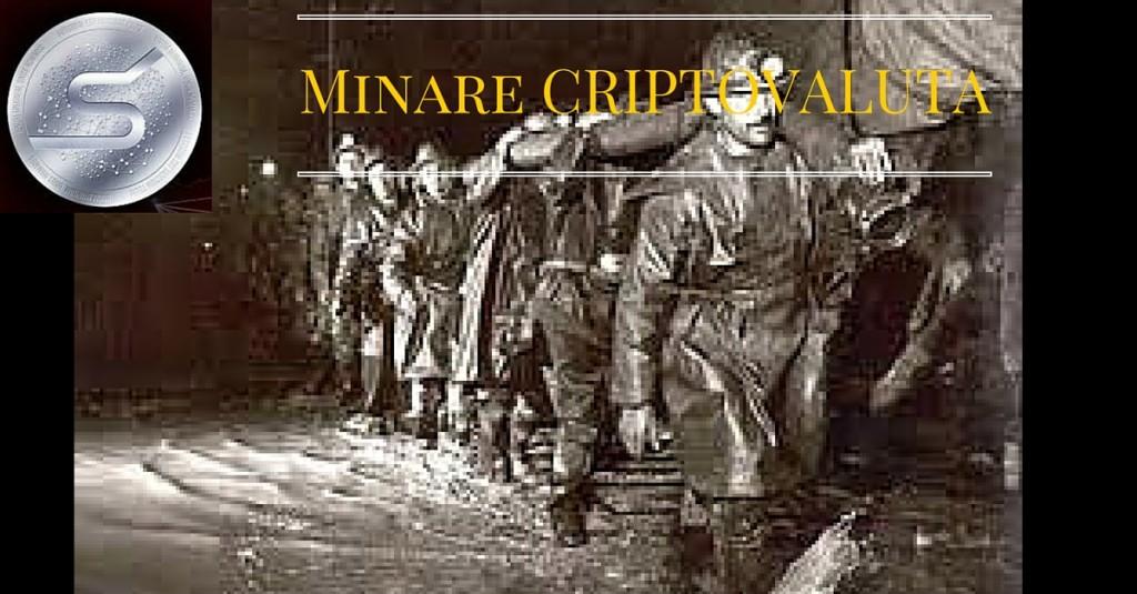 minare una criptovaluta