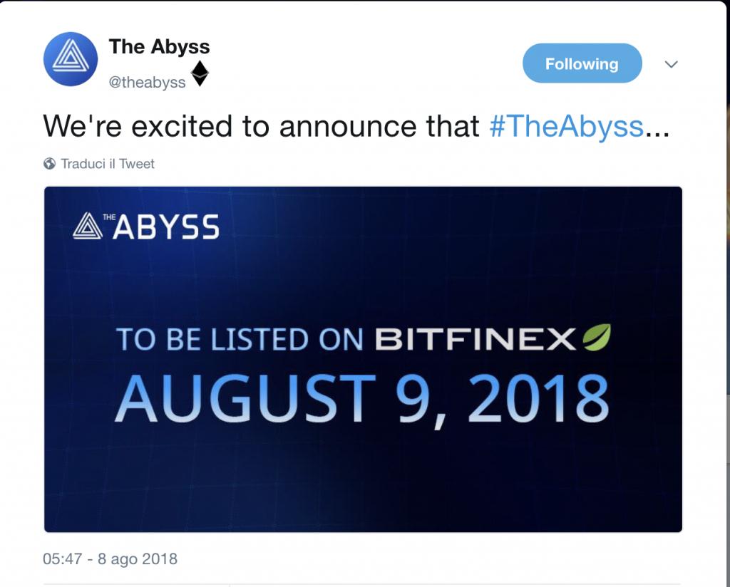 Tne-Abyss-arriva-su-più-exchange